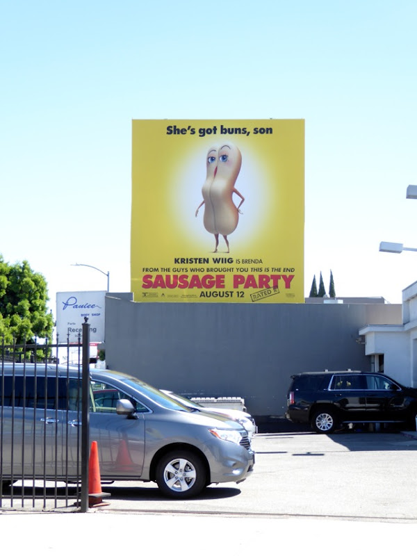 Sausage Party Brenda billboard