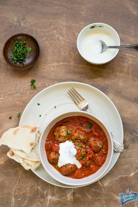 Klopsiki w pomidorach po libańsku
