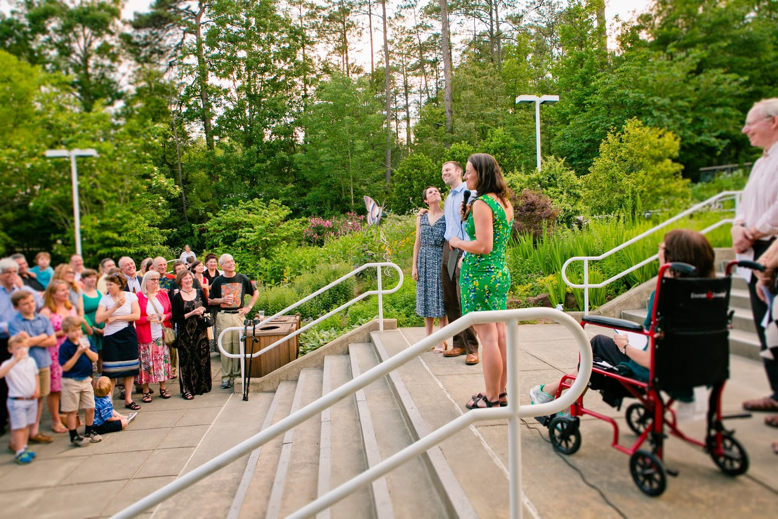 museum of life and science, museum wedding, contemporary wedding, greenhouse wedding, butterfly house, wedding photographers, wedding photography, wedding reception, train ride