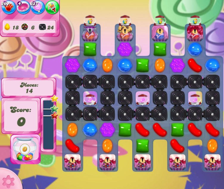 Candy Crush Saga level 2615