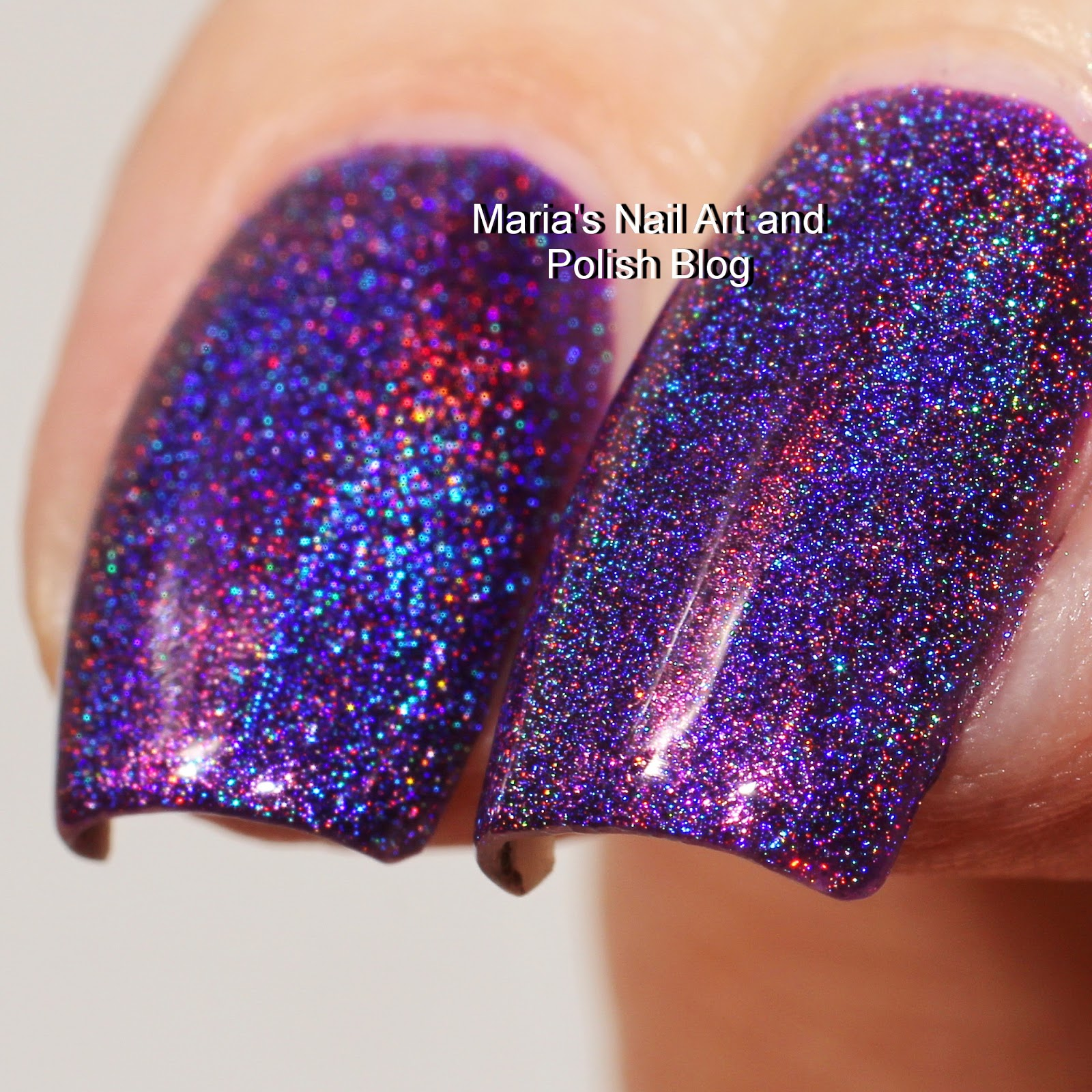 Marias Nail Art and Polish Blog: Colors by Llarowe Plum ...