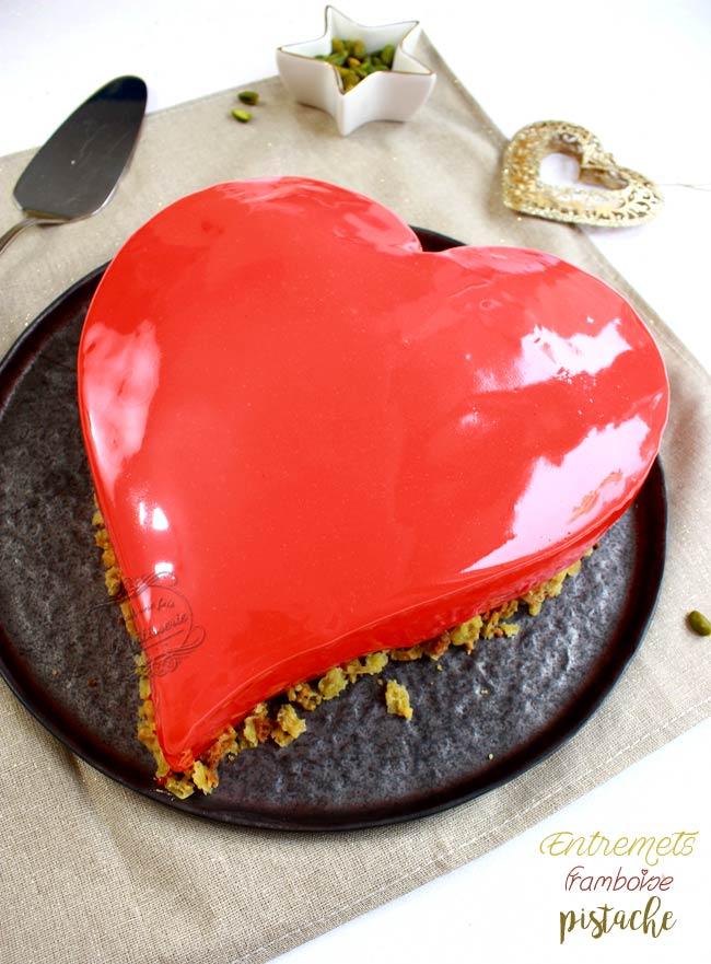 dessert saint valentin