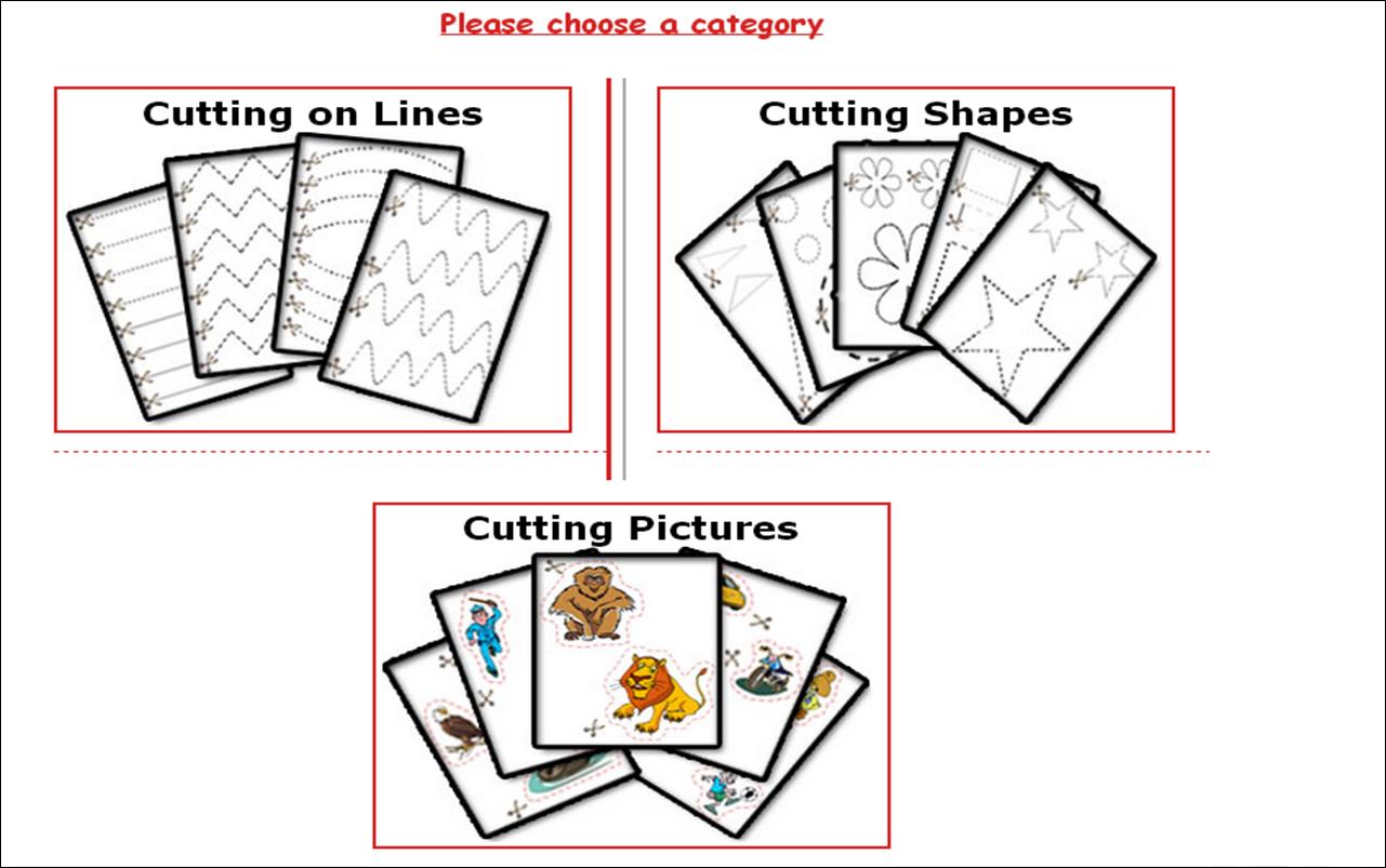 Art Friends Cutting Skills Scissor Skills Amp Cutting Worksheets