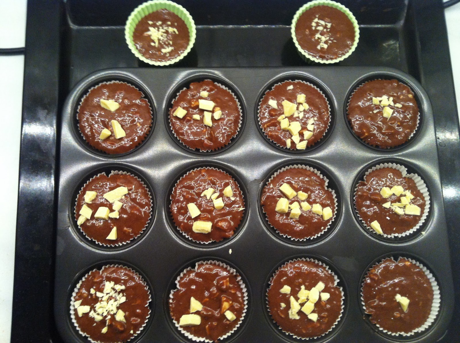 kleine muffins backen