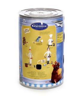 pixar ratatouille disney store figures 2007 remy