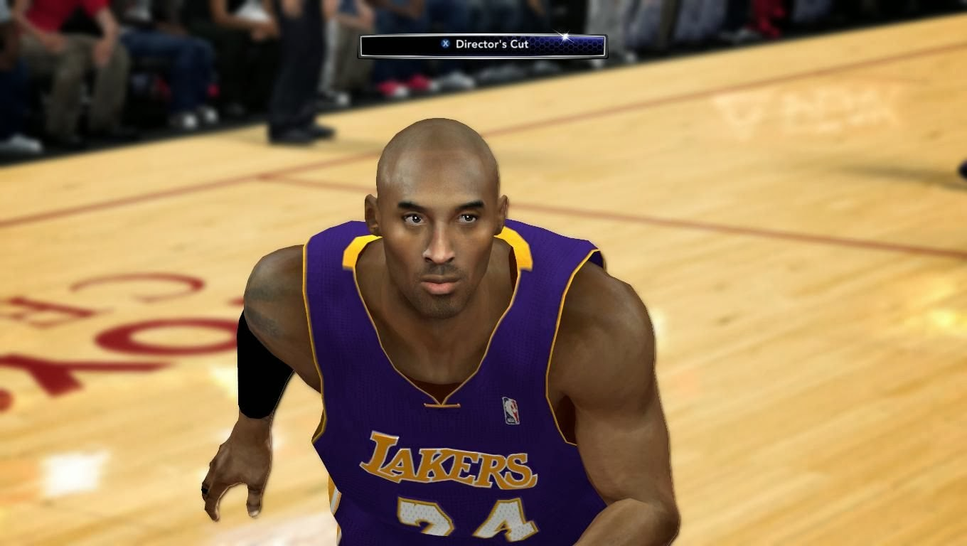 NBA 2K14 Kobe Bryant Cyberface Patches