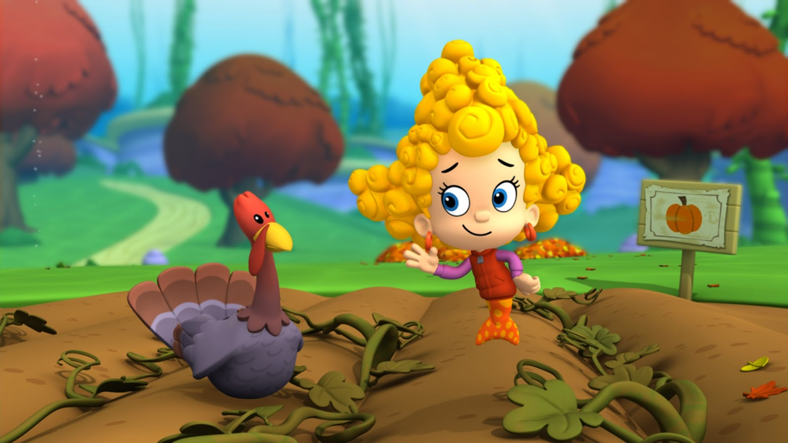 Nickalive Nickelodeon Usa Serves Up Fall Feast Of