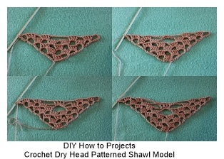 Crochet Shawl Models 2