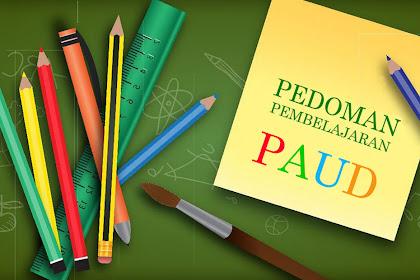 Pedoman Pembelajaran PAUD dan TK (Kurikulum 2013)