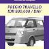 Sewa Van Travello dan Pregio di Kota Padang Sumatera Barat