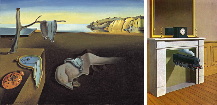 Salvador Dalí Taideteokset