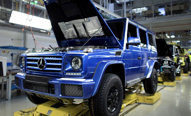 300,000th Mercedes-Benz G-Class Has Finally Been Produced 2018