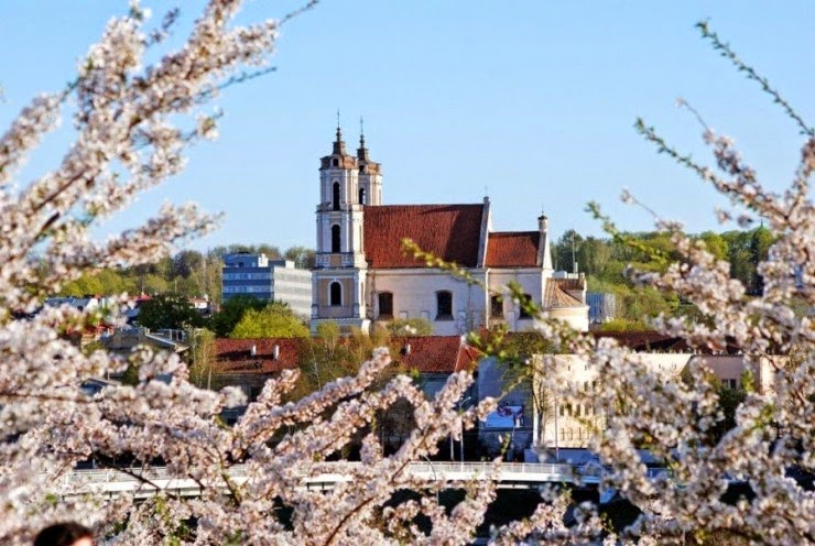 9. Vilnius, Lithuania - Top 10 Blooming Cities in Spring
