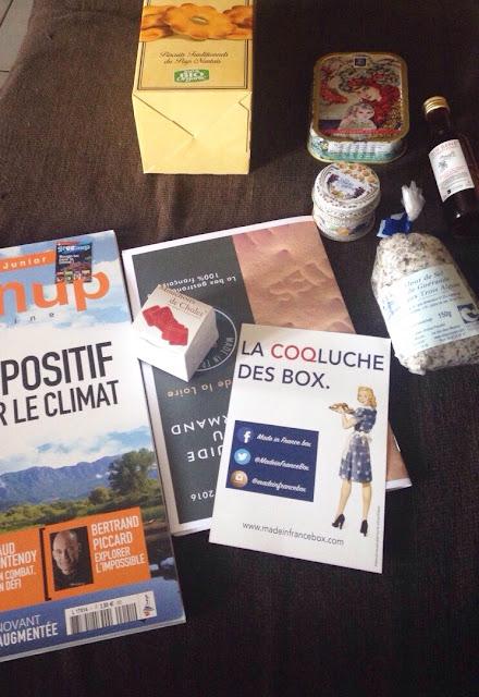 Dégustez chaque mois une nouvelle région de France: en mai Pays de la Loire - Made in France box