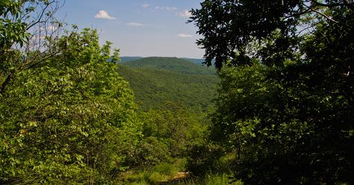 Hiking at Macedonia Brook State Park