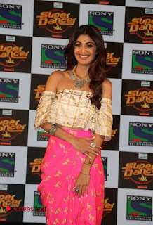 Actress Shilpa Shetty Pictures at Super Dancer Show Announcement 0001