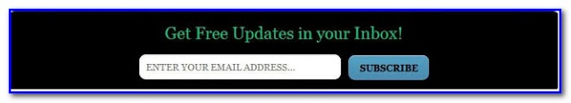 Add Subscription Box [E-mail Subscription Box with Social Buttons] underneath every post in Blogger!