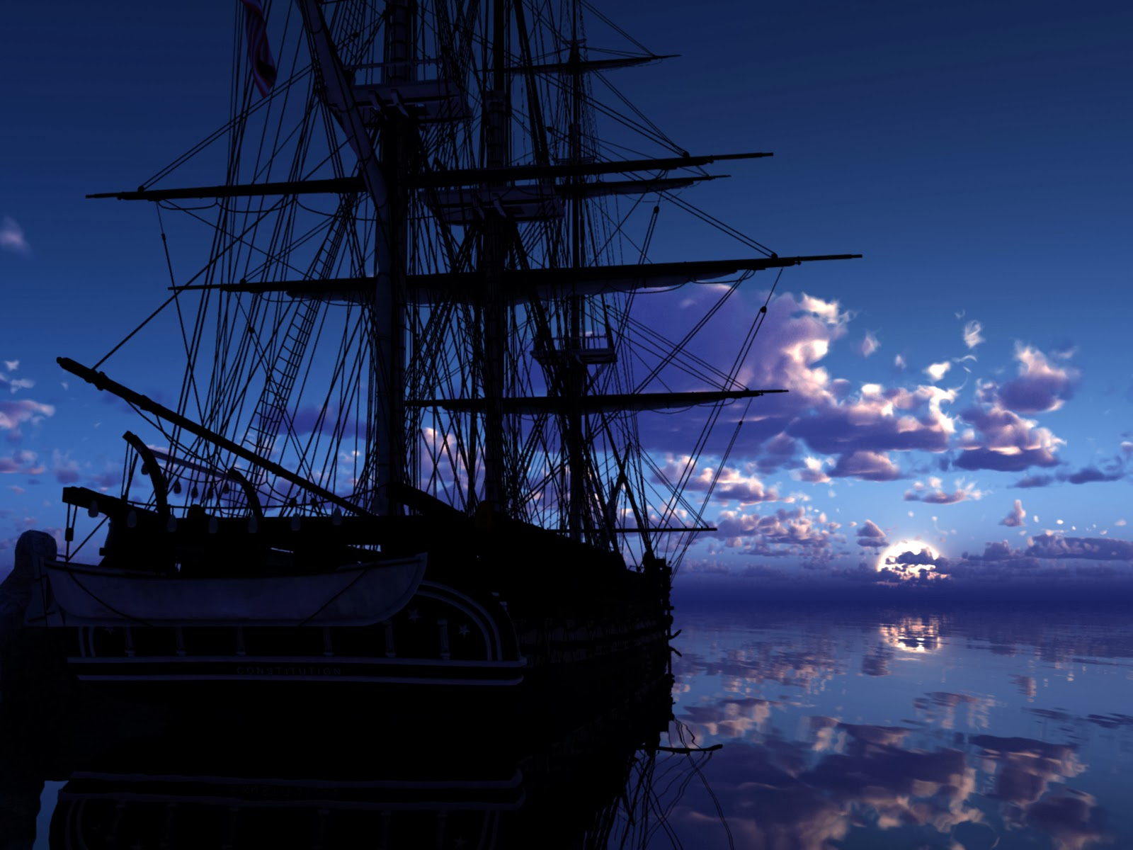 Lovable Images: Beautiful Sea & Sky & Sailing Ships