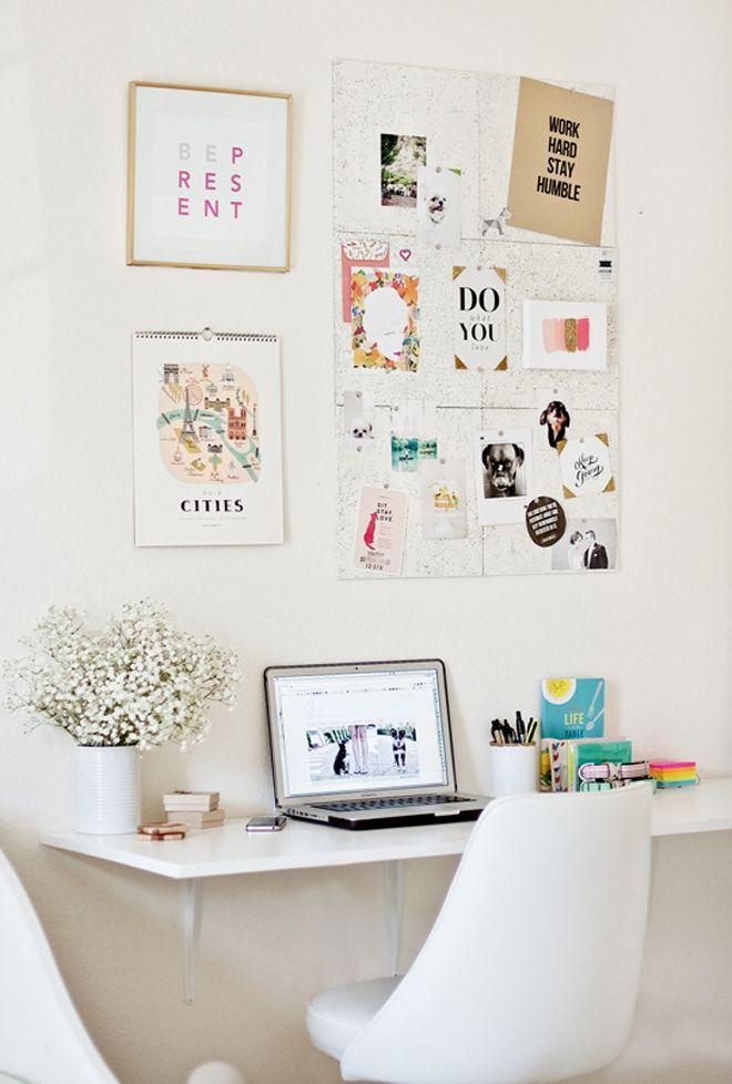 Peque os y grandes despachos en el dormitorio ministry for Ideas para decorar mi escritorio
