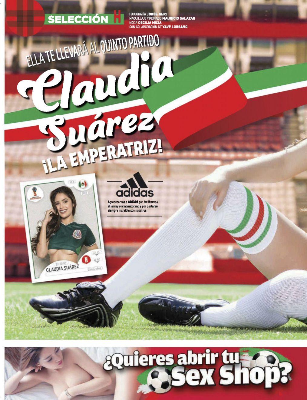 Claudia Suarez Revista H Junio 2018-2