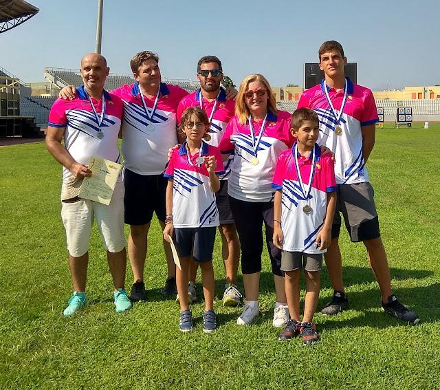 Με 7 μετάλλια επέστρεψε ο ΑΟ Μέρμπακα από τους αγώνες τοξοβολίας στην Πάτρα