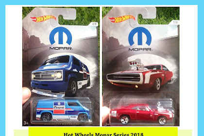 Hot Wheels Mopar Series 2018