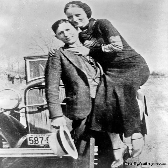 Kisah Bonnie Dan Clyde, Pasangan Penjenayah Paling Terkenal Di Dunia