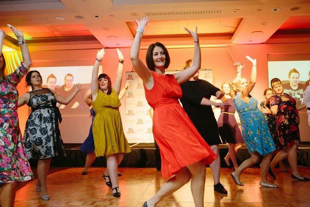flashmob at MAD Blog awards 2014