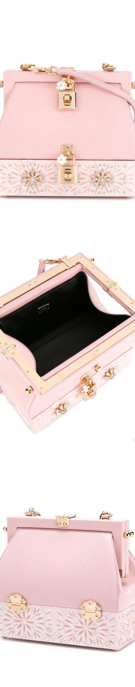 DOLCE & GABBANA Pink Crossbody Bag