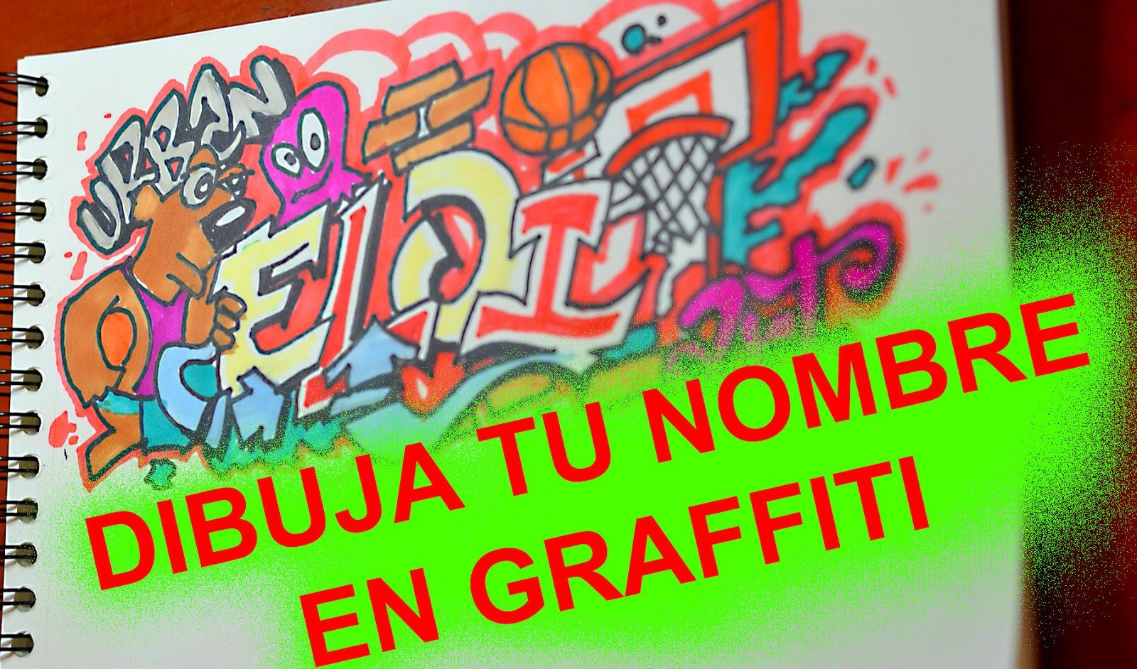 Tutorial de como hacer un graffiti en papel — 1
