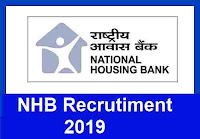 NHB Recruitment 2019 for Assistant Manager