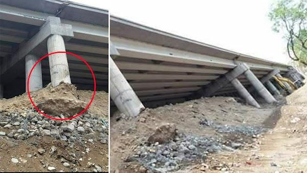 Alertan vecinos por posible nueva tragedia en el Paso Express Cuernavaca (FOTOS)