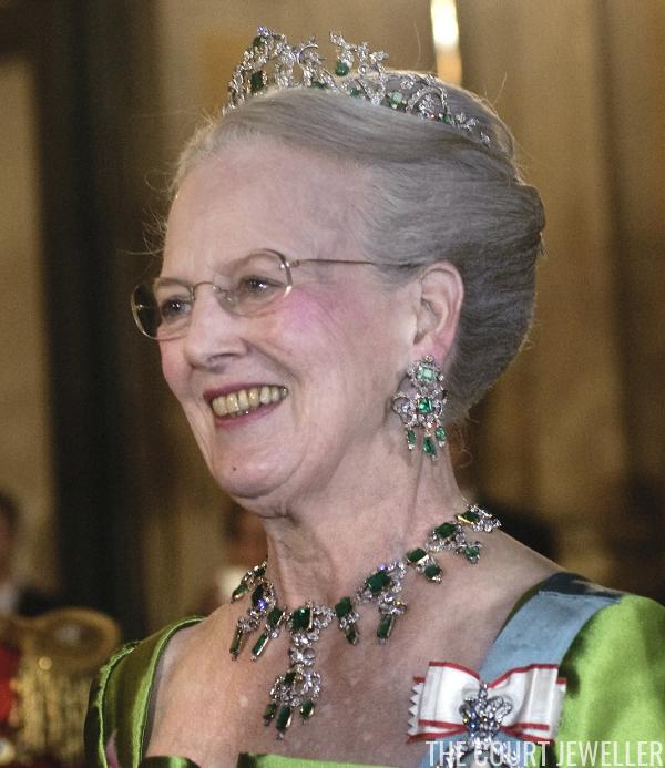 The Danish Emerald Parure Tiara