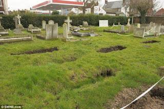 terra de cemitério