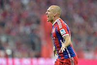 Robben is wanted by both Manchester clubs