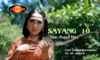 Lirik Lagu Sayang 10 - Puput Mey