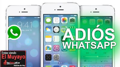 telefonos en los que no funcionara whatsapp