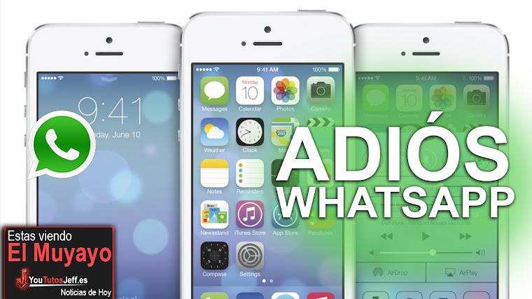 Whatsapp Dejara de Funcionar en estos Teléfonos para 2020