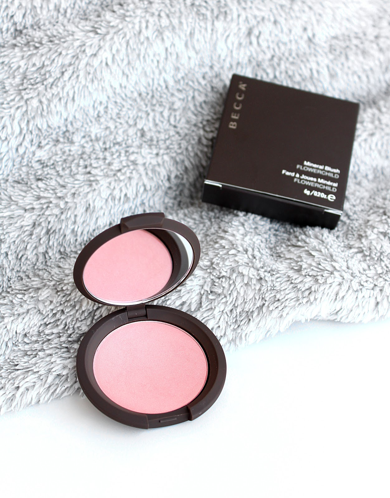 BECCA Flowerchild Mineral Blush Review & Swatches