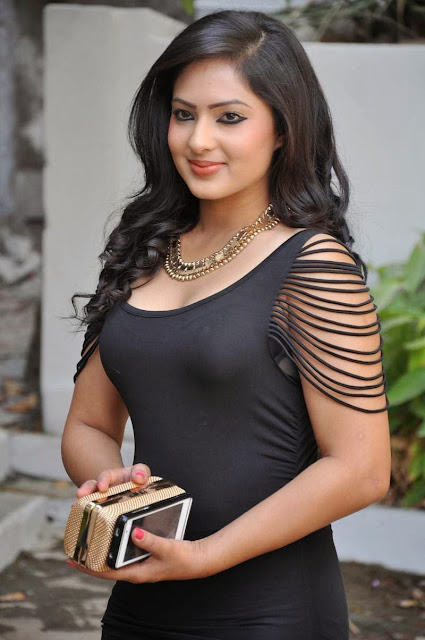 Telugu actress Nikesha Patel hot scenes in blouse