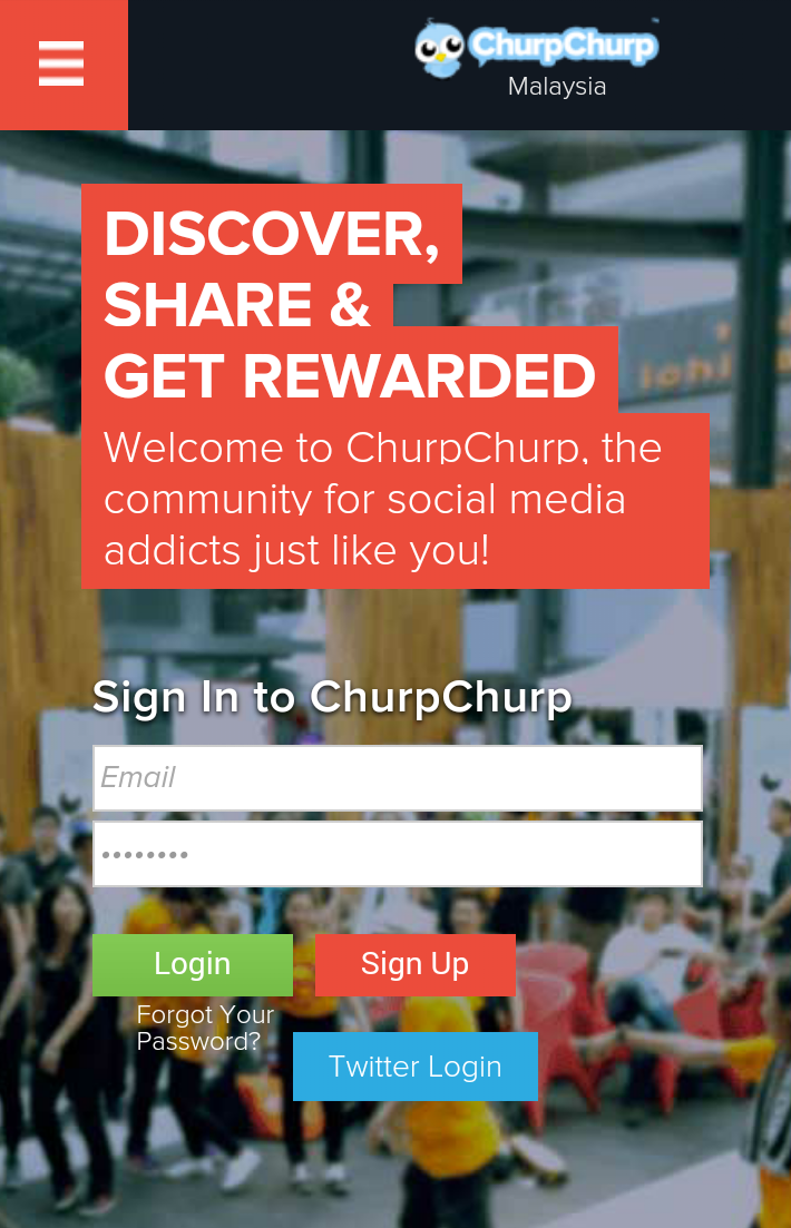 Strategy To Get Money With ChurpChurp Malaysia