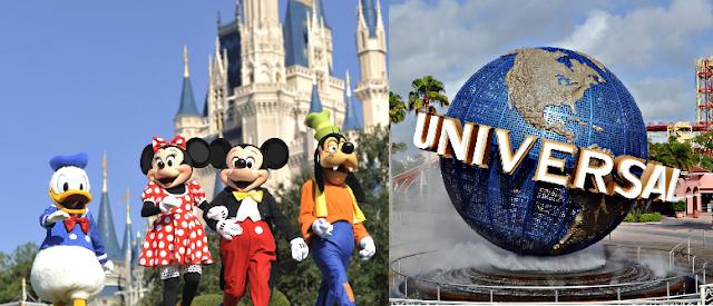 Descubra as 10 melhores atrações da Disney e Universal em Orlando