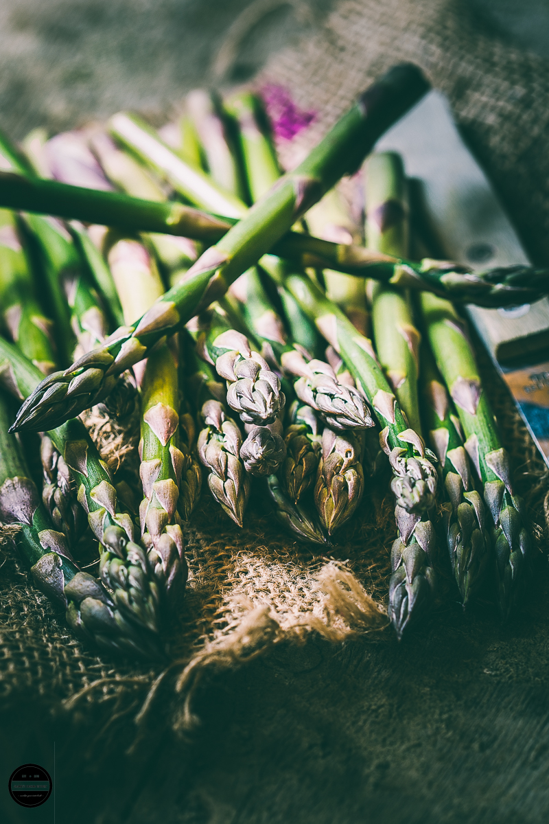 British Asparagus season April til June.