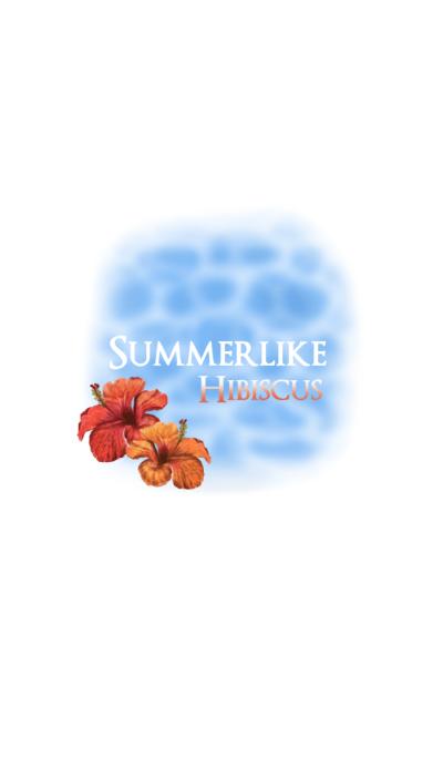 Summerlike Hibiscus