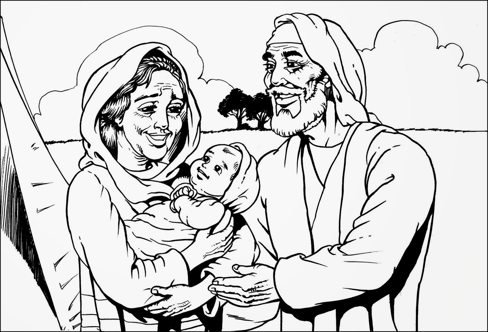 El Renuevo De Jehova: Abraham - Imagenes para colorear cristianas ...