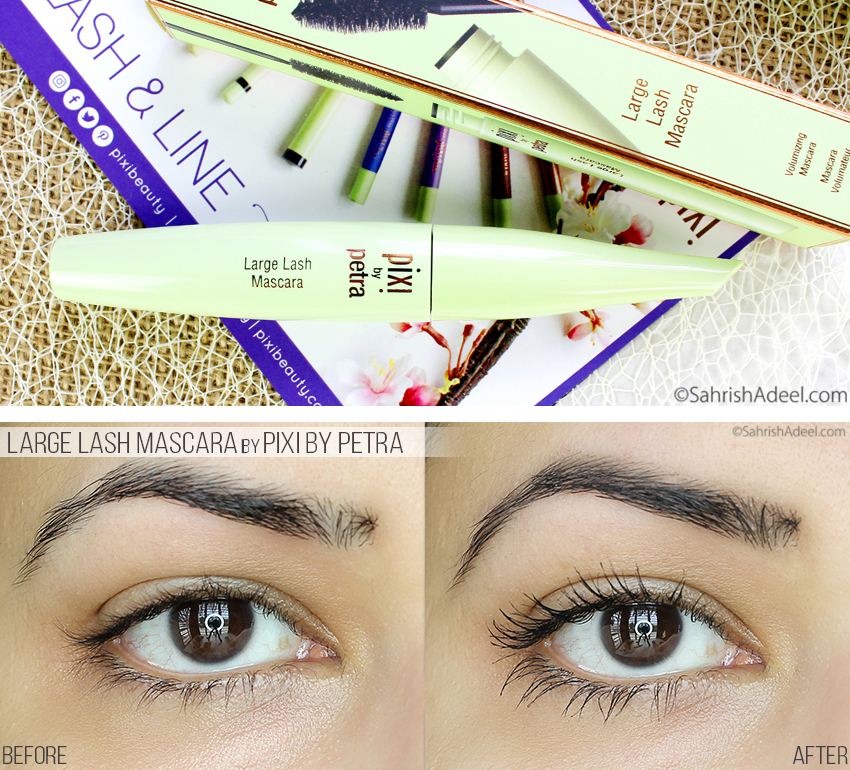 Large Lash Mascara by Pixi Beauty - Review & Before/After