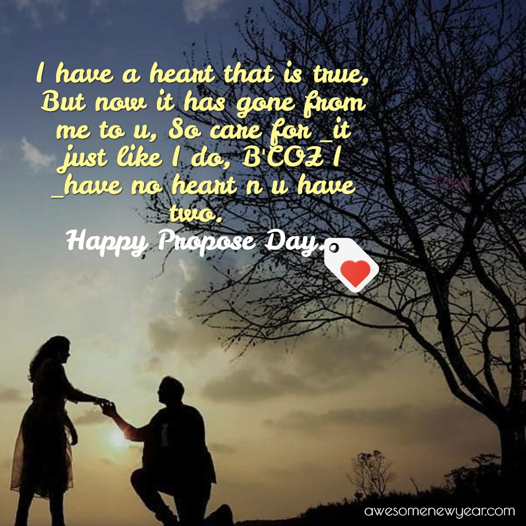 Happy Propose Day : Images, Photos, Sms, Wishes, Quotes