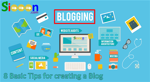 Creating a Blog, Basic Creating a Blog, Starting Tips for Creating a Blog, Getting Started with a Blog, Getting Started Creating a Blog, Basic Tips on Creating a Blog for Beginners, Tips for Beginners to Create a Blog, 8 Important Things when Creating a Blog.