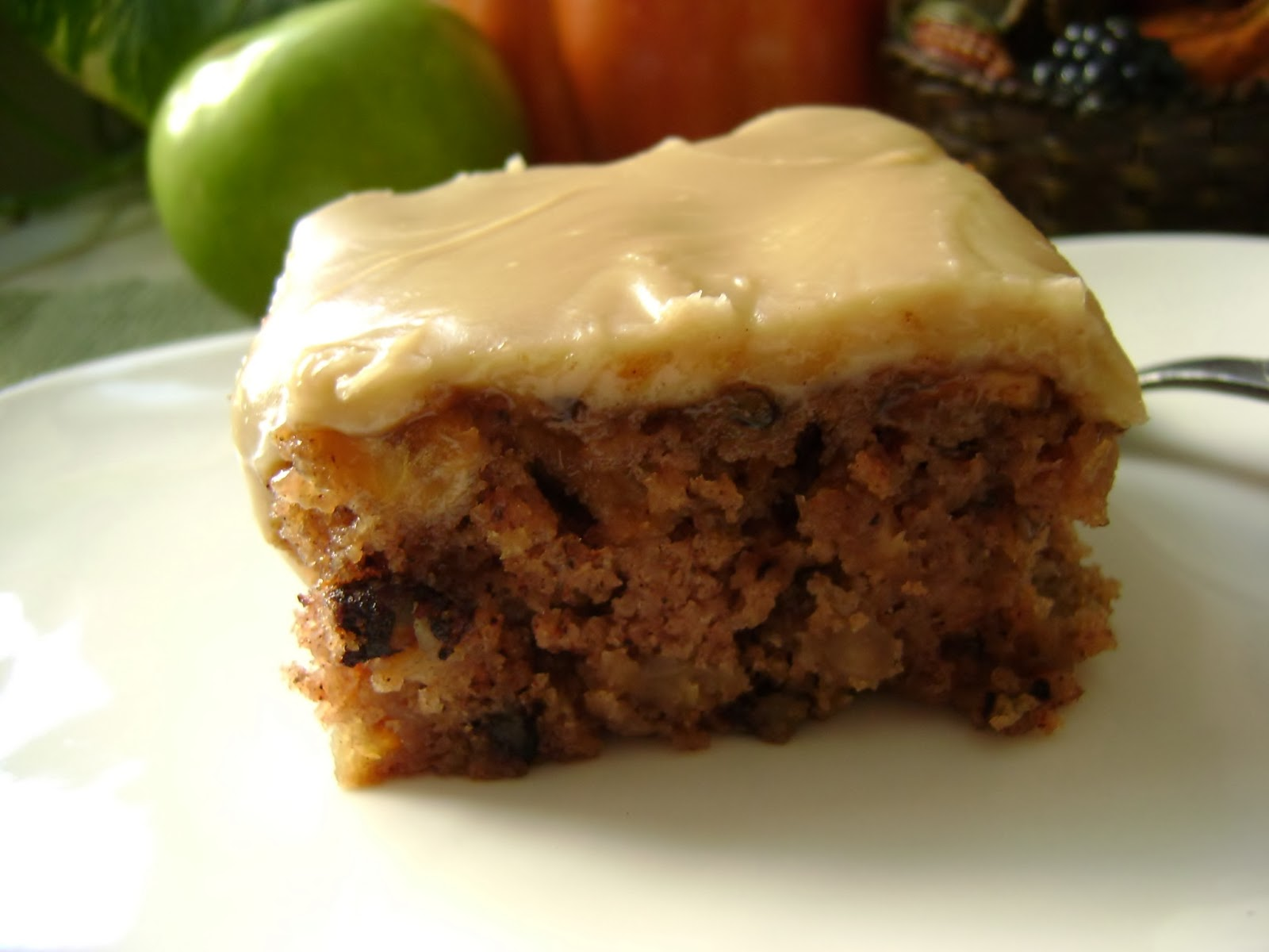 Apple Cake Recipe King Arthur: A Sunflower Life: Apple Cake With Brown-Sugar Frosting