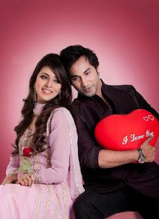 Bidya Sinha Saha Mim With Bangladeshi Actor Shajal Noor